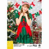 SKE48 2018年12月度 net shop限定個別生写真5枚セットvol.2 内山命