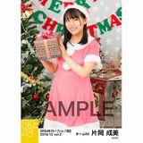 SKE48 2018年12月度 net shop限定個別生写真5枚セットvol.2 片岡成美