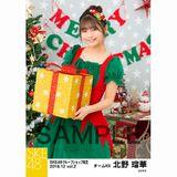 SKE48 2018年12月度 net shop限定個別生写真5枚セットvol.2 北野瑠華