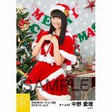 SKE48 2018年12月度 net shop限定個別生写真5枚セットvol.2 中野愛理