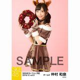 SKE48 2018年12月度 net shop限定個別生写真5枚セットvol.3 仲村和泉