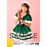SKE48 2018年12月度 net shop限定個別生写真5枚セットvol.3 山内鈴蘭
