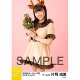 SKE48 2018年12月度 net shop限定個別生写真5枚セットvol.3 片岡成美
