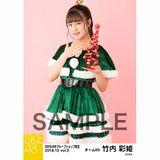 SKE48 2018年12月度 net shop限定個別生写真5枚セットvol.3 竹内彩姫
