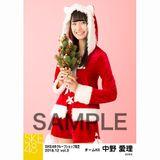 SKE48 2018年12月度 net shop限定個別生写真5枚セットvol.3 中野愛理