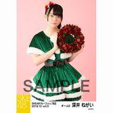 SKE48 2018年12月度 net shop限定個別生写真5枚セットvol.3 深井ねがい