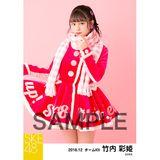 SKE48 2018年12月度 個別生写真5枚セット 竹内彩姫