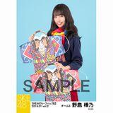SKE48 2019年1月度 net shop限定個別生写真5枚セットvol.2 野島樺乃