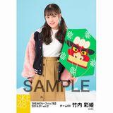 SKE48 2019年1月度 net shop限定個別生写真5枚セットvol.2 竹内彩姫