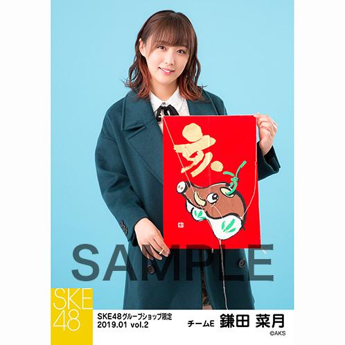 SKE48 2019年1月度 net shop限定個別生写真5枚セットvol.2 鎌田菜月