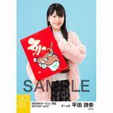 SKE48 2019年1月度 net shop限定個別生写真5枚セットvol.2 平田詩奈
