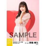 SKE48 2019年2月度 net shop限定個別生写真5枚セットvol.1 野島樺乃