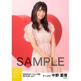 SKE48 2019年2月度 net shop限定個別生写真5枚セットvol.1 中野愛理