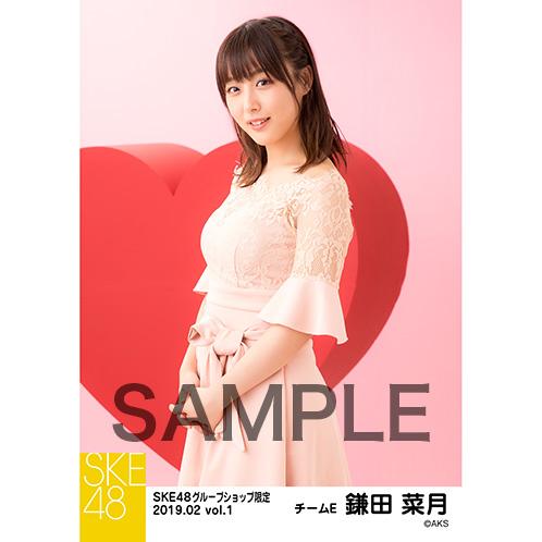 SKE48 2019年2月度 net shop限定個別生写真5枚セットvol.1 鎌田菜月
