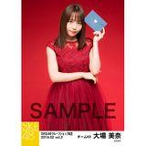 SKE48 2019年2月度 net shop限定個別生写真5枚セットvol.2 大場美奈