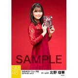 SKE48 2019年2月度 net shop限定個別生写真5枚セットvol.2 北野瑠華