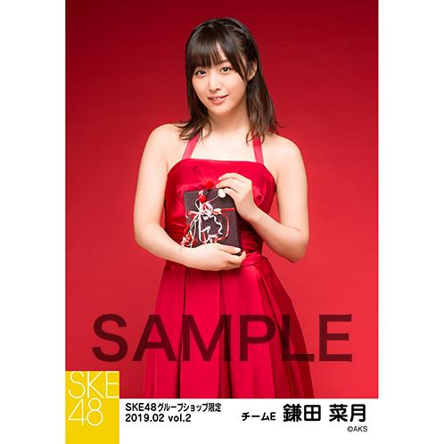 SKE48 2019年2月度 net shop限定個別生写真5枚セットvol.2 鎌田菜月