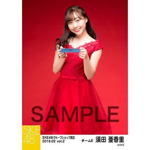 SKE48 2019年2月度 net shop限定個別生写真5枚セットvol.2 須田亜香里