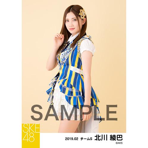 SKE48 2019年2月度 個別生写真5枚セット 北川綾巴