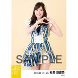 SKE48 2019年2月度 個別生写真5枚セット 松井珠理奈