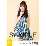 SKE48 2019年2月度 個別生写真5枚セット 白井琴望
