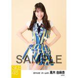 SKE48 2019年2月度 個別生写真5枚セット 高木由麻奈