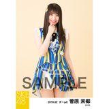 SKE48 2019年2月度 個別生写真5枚セット 菅原茉椰
