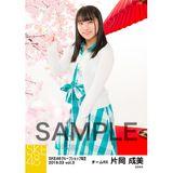 SKE48 2019年3月度 net shop限定個別生写真5枚セットvol.3 片岡成美