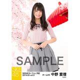 SKE48 2019年3月度 net shop限定個別生写真5枚セットvol.3 中野愛理