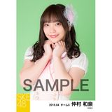 SKE48 2019年4月度 個別生写真5枚セット 仲村和泉