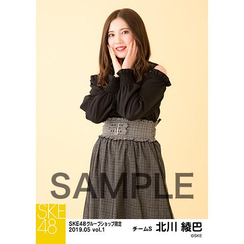 SKE48 2019年5月度 net shop限定個別生写真5枚セットvol.1 北川綾巴