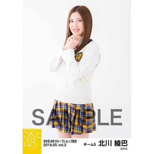 SKE48 2019年5月度 net shop限定個別生写真5枚セットvol.2 北川綾巴