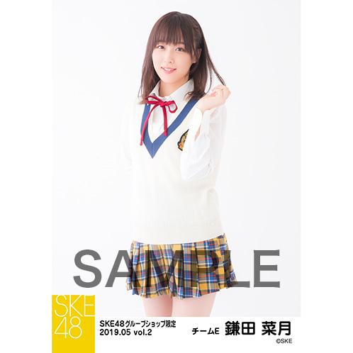SKE48 2019年5月度 net shop限定個別生写真5枚セットvol.2 鎌田菜月
