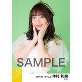 SKE48 2019年5月度 個別生写真5枚セット 仲村和泉