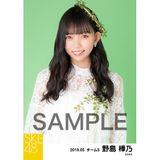 SKE48 2019年5月度 個別生写真5枚セット 野島樺乃