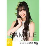 SKE48 2019年5月度 個別生写真5枚セット 末永桜花