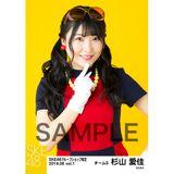 SKE48 2019年6月度 net shop限定個別生写真5枚セットvol.1 杉山愛佳