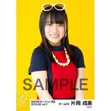 SKE48 2019年6月度 net shop限定個別生写真5枚セットvol.1 片岡成美