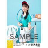 SKE48 2019年6月度 net shop限定個別生写真5枚セットvol.2 西満里奈
