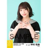 SKE48 2019年6月度 net shop限定個別生写真5枚セットvol.3 仲村和泉