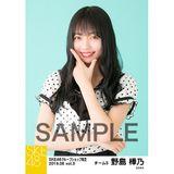 SKE48 2019年6月度 net shop限定個別生写真5枚セットvol.3 野島樺乃