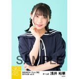 SKE48 2019年6月度 net shop限定個別生写真5枚セットvol.3 浅井裕華