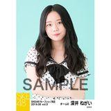 SKE48 2019年6月度 net shop限定個別生写真5枚セットvol.3 深井ねがい