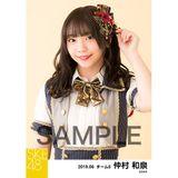 SKE48 2019年6月度 個別生写真5枚セット 仲村和泉