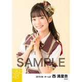 SKE48 2019年6月度 個別生写真5枚セット 西満里奈