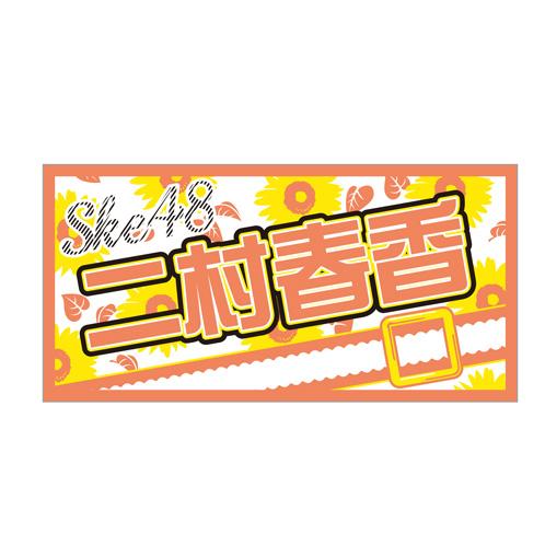 AKB48 41stシングル 選抜総選挙 個別BIGタオル SKE48 type 二村春香