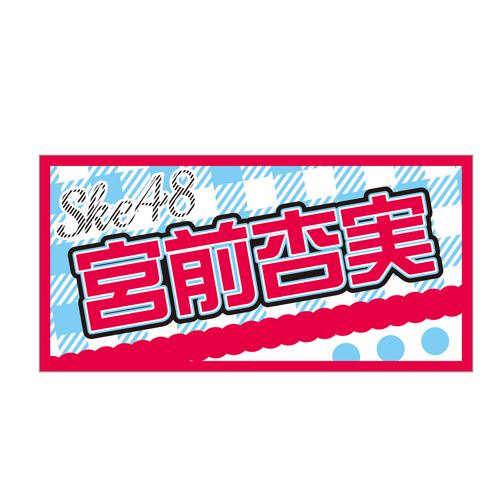 AKB48 41stシングル 選抜総選挙 個別BIGタオル SKE48 type 宮前杏実