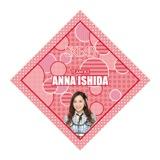 SKE48 2015年10月度個別グッズ「ハンカチ」 石田安奈