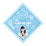 SKE48 2015年10月度個別グッズ「ハンカチ」 野島樺乃