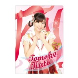 SKE48 2014年6月度個別グッズ「クリアファイル」 58種 加藤智子